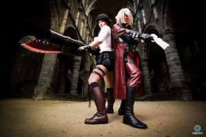 Dante and Lady - Taste the Blood by Snakethoot