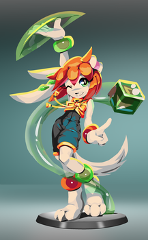 Milla Figure - concept by goshaag