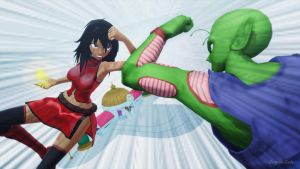 MMD - pose fight 06 by CogetaCats