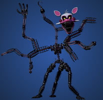 Mangle - FNaF The Fourth Closet by yoshipower879