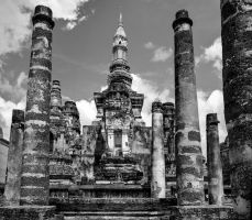 Sukhothai temple complex #5 by Roger-Wilco-66