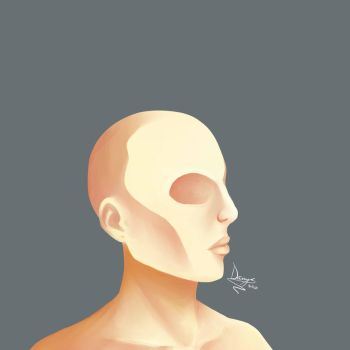 Painting Practice: Skin by GalaxyCalotype