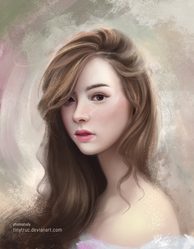 Photo Study Portrait by TinyTruc