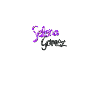 Texto Selena Gomez png by niheditions