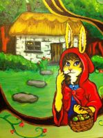 Rabbit Riding Hood by BlossomBrooks