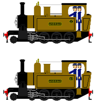 Andreas the mid sodor engine by AmazingNascar221