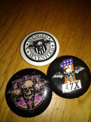 Avenged Sevenfold buttons  by A7XFan666