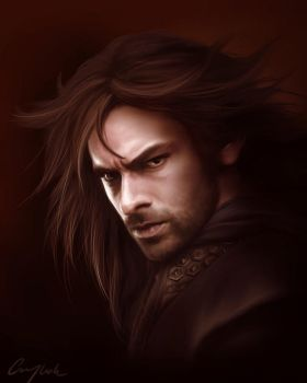 Kili the Fierce by Aegileif