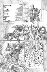 GI JOE ARAH #254 PAGE 14 PENCILS by NethoDiaz