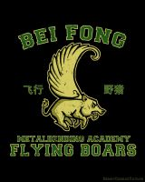 Bei Fong Metalbending Academy Flying Boars by HenryConradTaylor