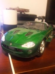 Zao's Jaguar XKR cabriolet, Die another day by Fadeless451