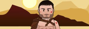 LEGO: Spartacus vector by akyanyme