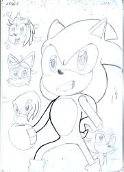 Sonic and Friends by Amazingartistred