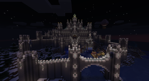 Epic Minecraft Castle (now taller) by CW390