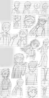 OC Ntbk Sketches: Oct-Dec 2010 by Apkinesis