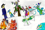 ToonTown Winter by Sarahdog2009