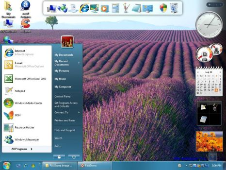 WINDOWS 7RTM 4 XP RC2 by AdminAdmin