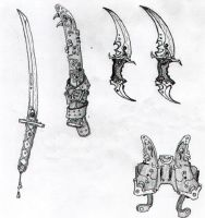 Akans weapons by aca