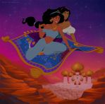 Commision: Disney: Jasmine and Esmeralda by Precia-T