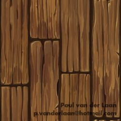 Wood Planks C by Hupie