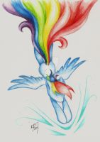 The Softest of Rainbooms by Kelly-Jo