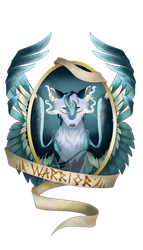 Commission - Warrior Medallion by FuyusFox