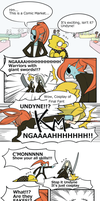 Undyne and Alphys in Comic Market by unousaya