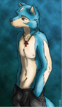 Husky Furry by TobiIsCrying