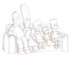 The Simpsons Sketch by JesseAllshouse