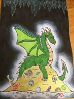 Dragons:Dragon hoard by JBDragon666