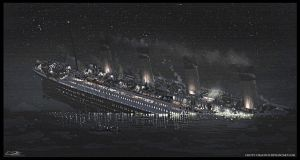 The Sinking of the Titanic by Eliott-Chacoco