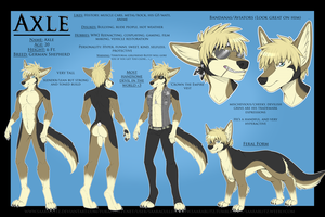 Axle Ref Sheet by Blitzy-Arts