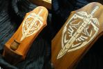 Legend of Zelda Candle Sconce by BacktoEarthCreations
