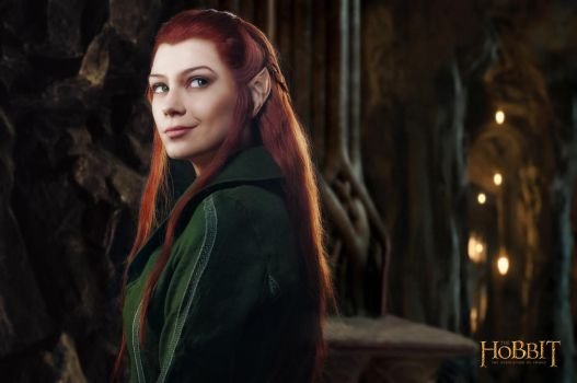 Tauriel 1 - The Hobbit cosplay (test) by LuckyStrikeCosplay