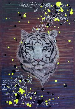 White Tiger by Cyanoid
