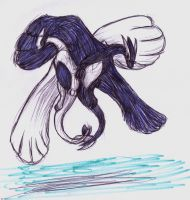 Quill and Vita lugia by StellaDraco
