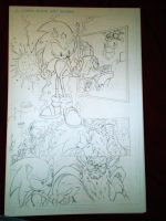 sonic comic practice 3 by trunks24
