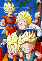 Dragon Ball Z Saga Boo by Niiii-Link