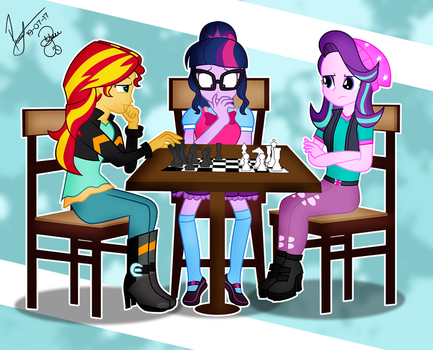 COMM: Chess Game by PaulySentry