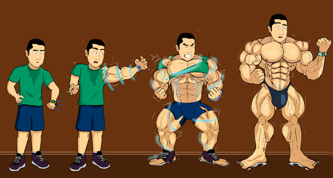 Runner Muscle Growth by Salvador503