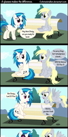 a glasses makes the difernce by Coltsteelstallion
