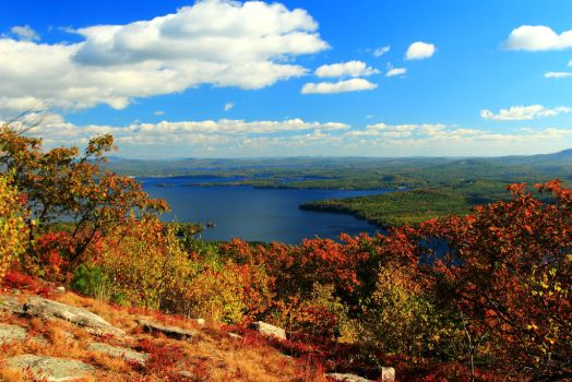 Stock: View from Mt Major in Autumn by Celem