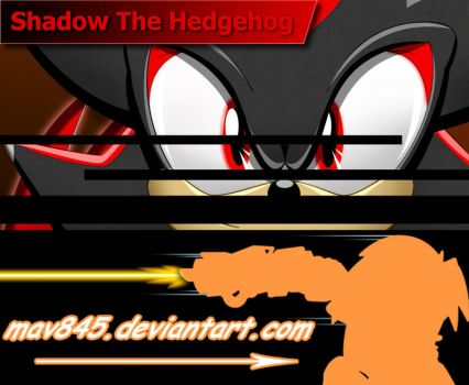 Shadow the hedgehog by Maverick-RF