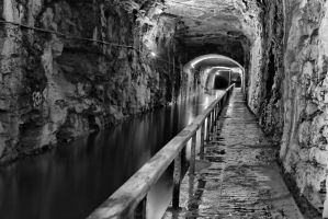 Monochrome Tunnel by BusterBrownBB