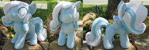 Snowdrop Plushie Take Two by The-Crafty-Kaiju