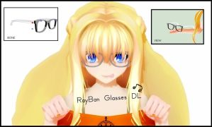 MMD-Fashion Rayban Glasses by ThisisKENZ