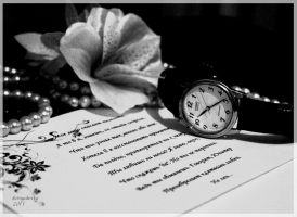 Time and a note by Izheny123