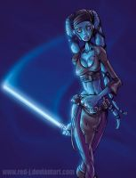 JEDI Aayla Secura by Red-J