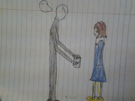 Corpse Party x Slenderman by ilovescaryklowns