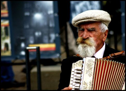 old musician by Amelia007